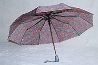 Зонты Feeling Rain пол.авт. сердечные ромашки, фото 1
