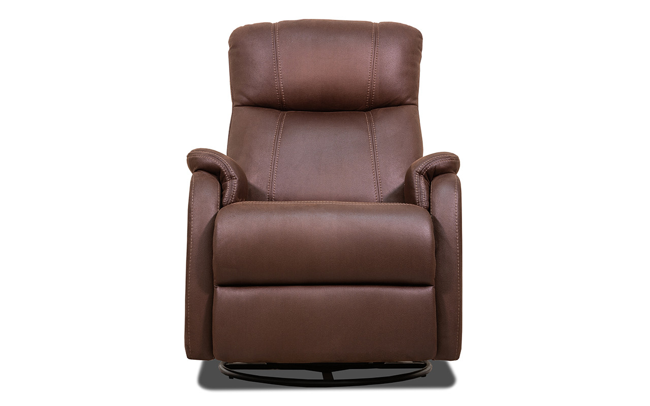 Кожаное кресло реклайнер Rio, кресло с реклайнером