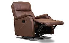 Кожаное кресло реклайнер Rio, кресло с реклайнером, фото 3