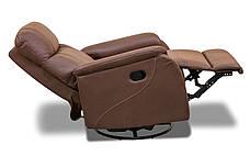 Кожаное кресло реклайнер Rio, кресло с реклайнером, фото 2