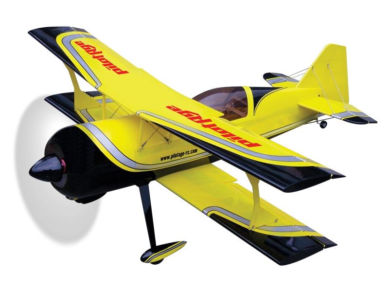 Авиамодель на радиоуправлении самолета  PITTS Python  30E   ARF,  1245 мм