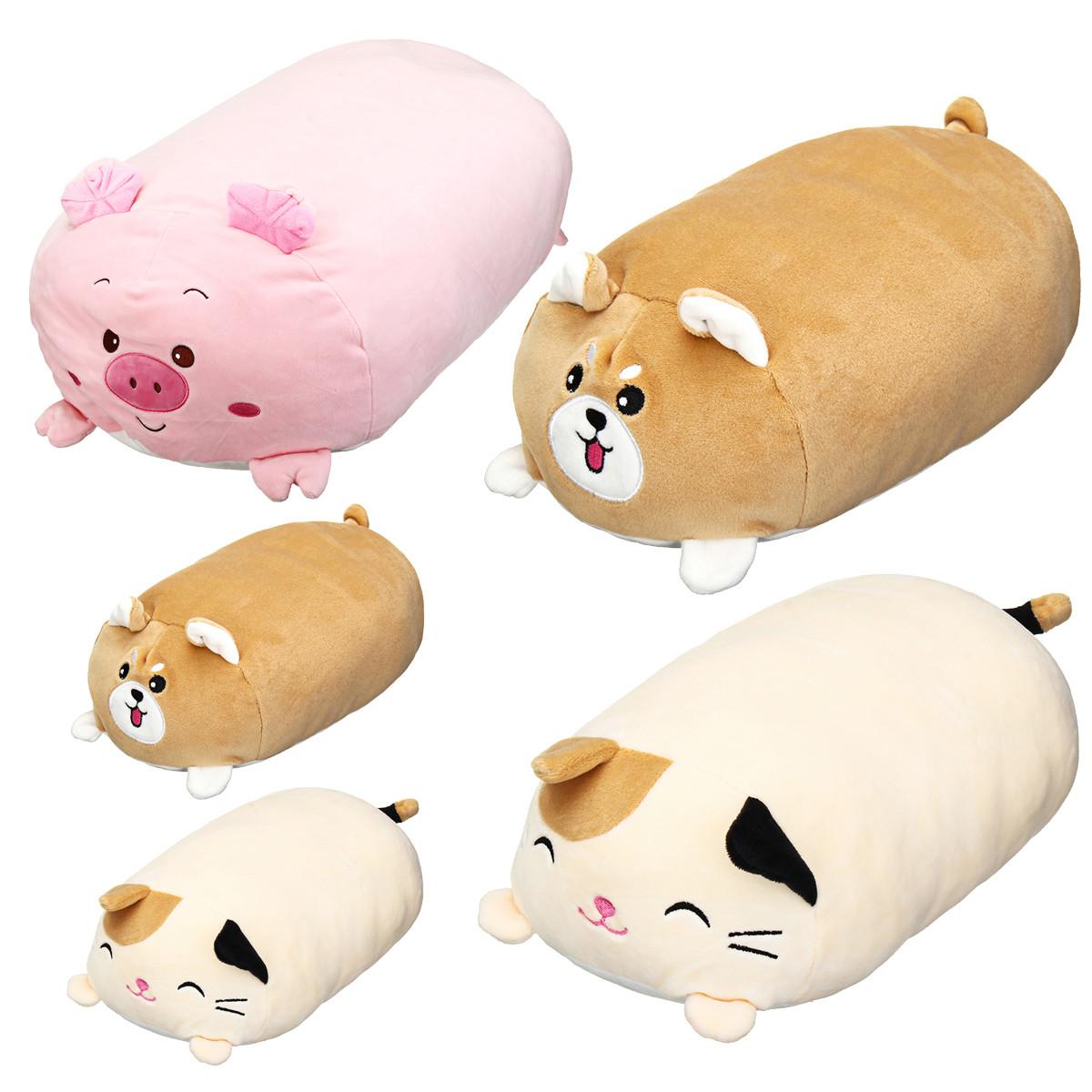 30/60 см пухлые милые Soft животных мультфильм подушку фаршированные плюшевые игрушки фаршированные щенка подушечка котенка - 1TopShop