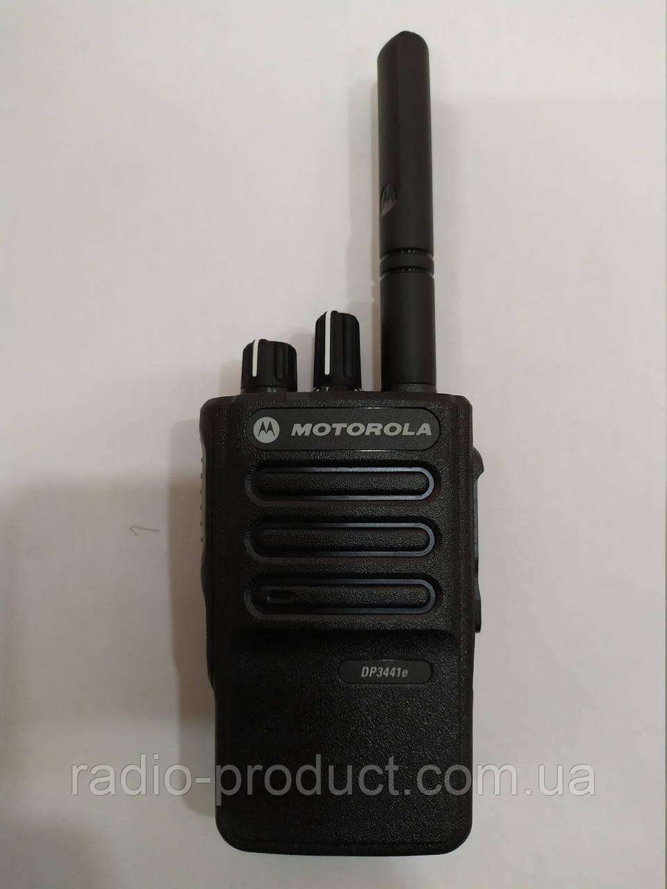 Motorola DP3441E, аналогово-цифровая (DMR) радиостанция VHF диапазона