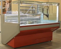 Холодильна вітрина куб Juka FGL160A