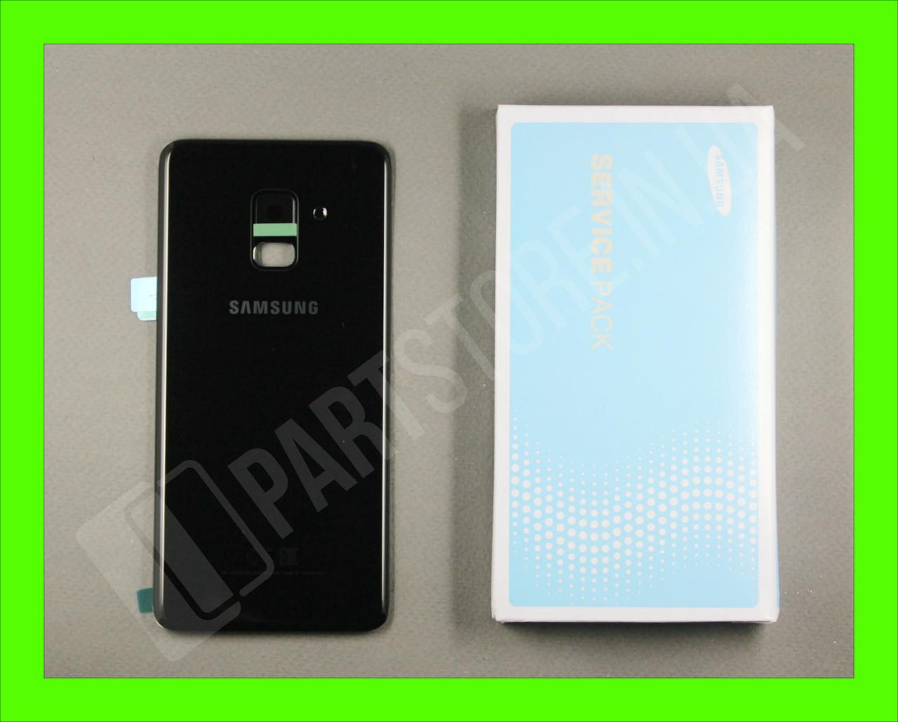 Cервисная оригинальная задняя Крышка Samsung A530 Black A8 2018 (GH82-15591A)