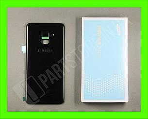 Cервисная оригинальная задняя Крышка Samsung A530 Black A8 2018 (GH82-15591A), фото 2