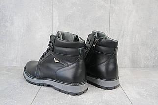 Мужские ботинки кожаные зимние черные Maxus KET 3, фото 3