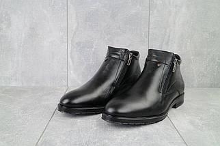 Мужские ботинки кожаные зимние черные Vivaro 135, фото 2