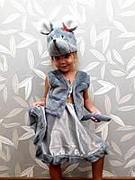 Новогодний карнавальный костюм для девочки  Мышка