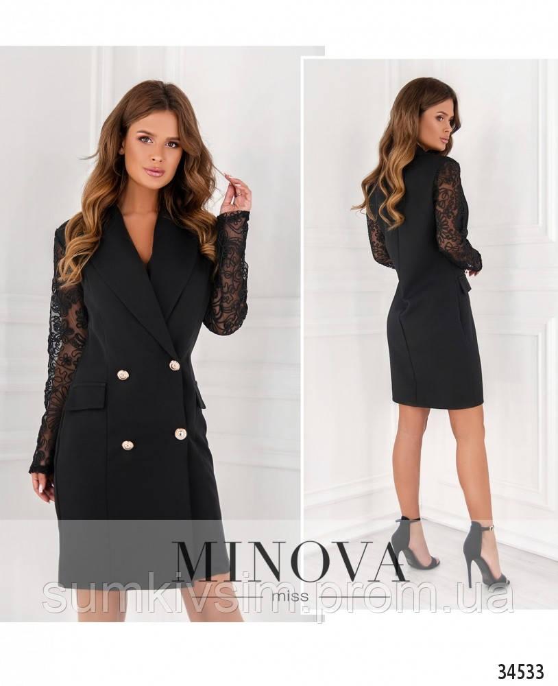 Платье №204-черный, фото 1