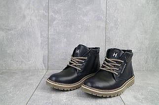 Подростковые ботинки кожаные зимние синие Anser 65, фото 2