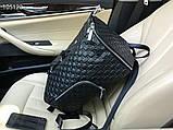 Рюкзак чоловічий Гуччі, шкіряна репліка, фото 2