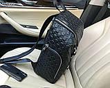 Рюкзак чоловічий Гуччі, шкіряна репліка, фото 3