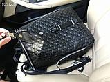 Рюкзак чоловічий Гуччі, шкіряна репліка, фото 5