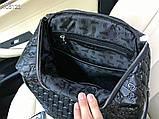 Рюкзак чоловічий Гуччі, шкіряна репліка, фото 6