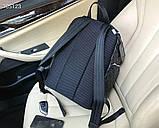 Рюкзак чоловічий Гуччі, шкіряна репліка, фото 9