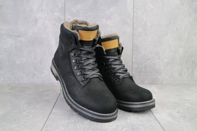 Мужские ботинки кожаные зимние черные Trike 099/M, фото 2