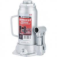 Домкрат гидравлический бутылочный, 12 т, высота подъема 230-465 мм MTX Master