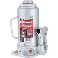 Домкрат гидравлический бутылочный, 15 т, высота подъема 230-460 мм MTX Master