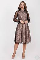 Платье Шерри горох, фото 1