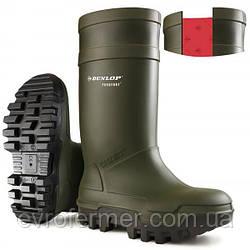 Зимові захисні гумові чоботи Dunlop Purofort Thermo+ (рівень захисту S5)