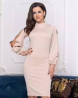 Платье с разрезами на рукавах 41187, фото 1