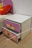 Тумба прикроватная Мульти  (Світ мебелів) 470х395х470мм, фото 4