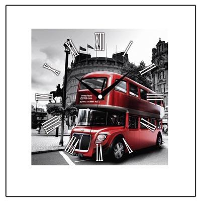 Настенные часы Лондонский автобус