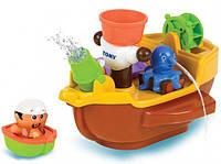 Игрушка для ванной Пиратский корабль Tomy