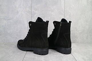 Женские ботинки кожаные зимние черные Vikont 7-2-32, фото 2
