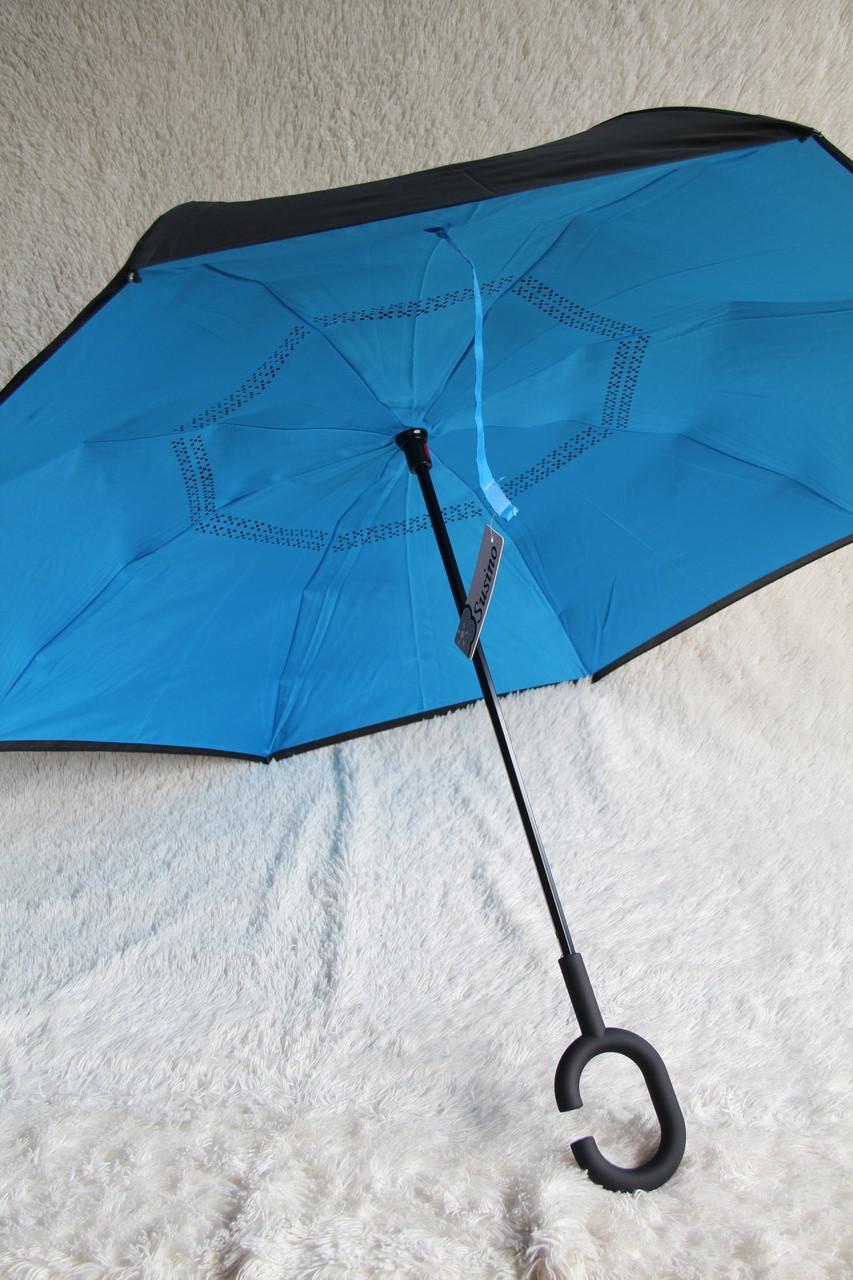 Зонты Susino двухстороннего откр. АНТИЗОНТ Skyfall без тёмных