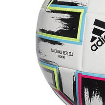 Мяч футбольный Adidas Uniforia Training Euro 2020 №5 FU1549 Белый, фото 3