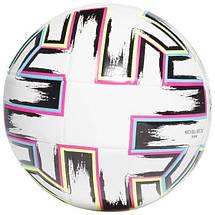 Мяч футбольный Adidas Uniforia Training Euro 2020 №5 FU1549 Белый, фото 2