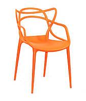 Крісло пластикове Bari, ПОМАРАНЧЕВИЙ 70, фото 1
