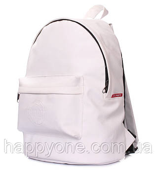 Жіночий рюкзак Poolparty (білий) штучна шкіра