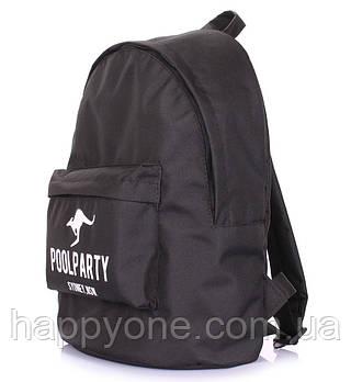 Молодежный рюкзак Poolparty Oxford (черный)