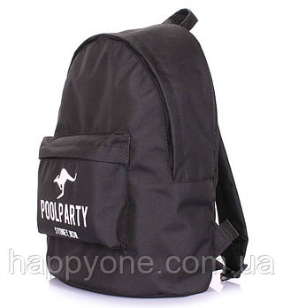 Рюкзак молодіжний Poolparty Oxford (чорний)