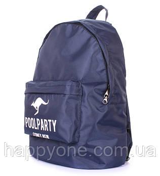 Рюкзак молодіжний Poolparty Oxford (синій)