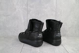 Женские ботинки кожаные зимние черные BENZ 70202, фото 3