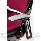 Кресло офисное Wau burgundy fabric  (E0758), фото 2