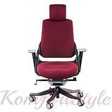 Кресло офисное Wau burgundy fabric  (E0758), фото 3