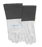 Сварочные перчатки для ТИГ сварки SOFTouch™ из лицевой козьей кожи
