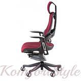 Кресло офисное Wau burgundy fabric  (E0758), фото 4