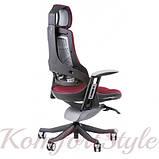 Кресло офисное Wau burgundy fabric  (E0758), фото 5
