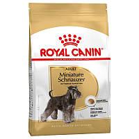 Royal Canin (Роял Канин) Schnauzer Adult для собак породы Миниатюрный шнауцер старше 10 месяцев, 7.5кг.