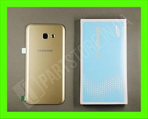 Cервисная оригинальная задняя Крышка Samsung A520 Gold A5 2017 (GH82-13645B), фото 2