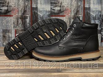 Мужские ботинки зимние Wrangler New Trend (мех) (черные)