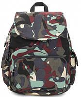 Городской рюкзак Kipling Basic, на 13 л, камуфляжный