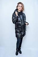 Зимняя женская куртка Weiming. Черный цвет.