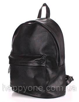 Шкіряний рюкзак Poolparty (чорний)